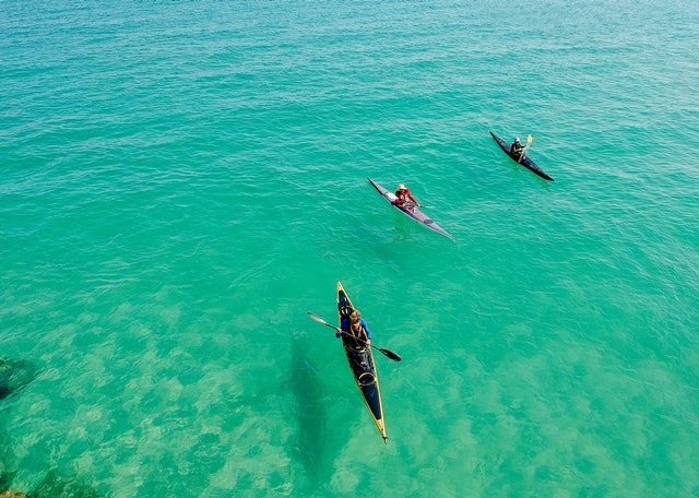 faire du kayak minorque